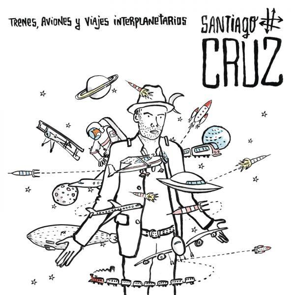 """Santiago Cruz publica """"Trenes, aviones y viajes interplanetarios"""" en formato físico"""