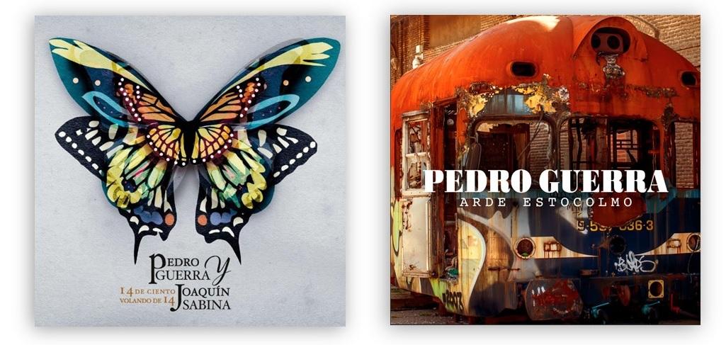 """Pedro Guerra publica hoy """"Arde Estocolmo"""" y """"14 de ciento volando de 14"""", su álbum con Joaquín Sabina"""