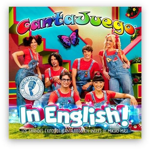 Cantajuego in English!, el nuevo y esperado DVD+CD de Cantajuego, se publica el próximo 16 de Junio