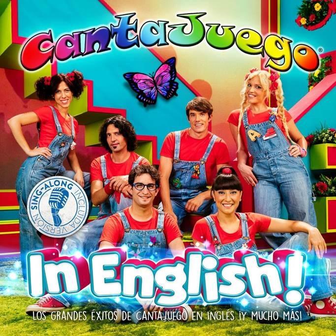"""Hoy a la venta """"Cantajuego In English!"""", el nuevo CD+DVD de Cantajuego"""