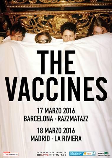 The Vaccines anuncian gira por España