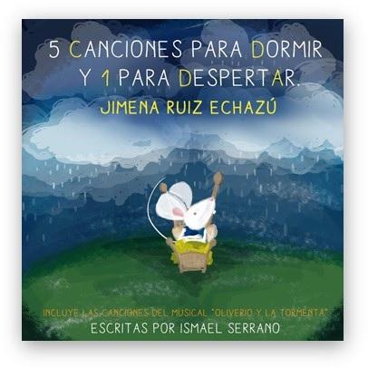 """Hoy a la venta """"5 canciones para dormir y 1 para despertar"""", el primer proyecto infantil de Ismael Serrano y Jimena Ruiz Echazú"""