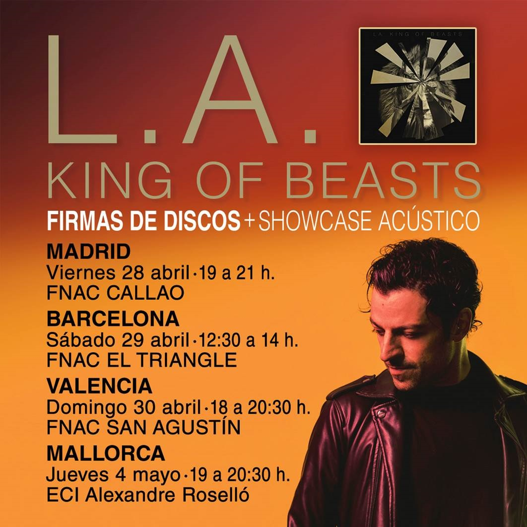 "L.A. rompe las etiquetas de lo alternativo en ""King Of Beasts"""