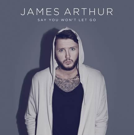 """James Arthur anuncia el lanzamiento de su nuevo single """"Say You Won't Let Go""""."""