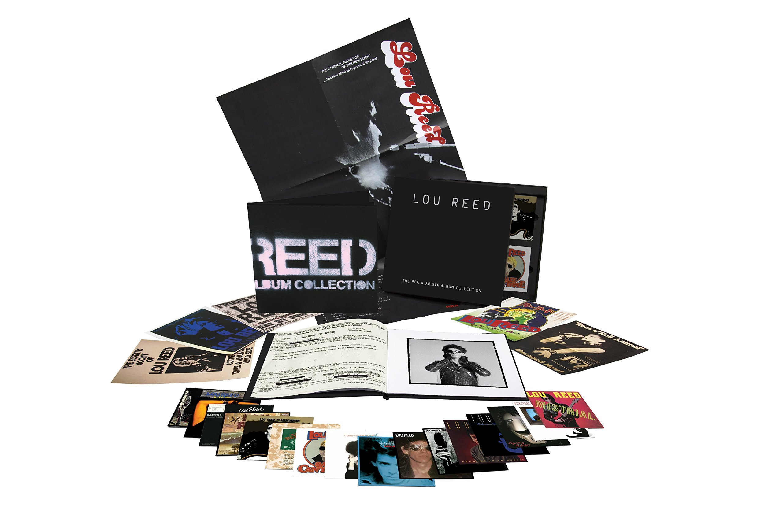 "Legacy Recordings publicará ""Lou Reed – The RCA & Artista Album Collection"" el 7 de octubre"