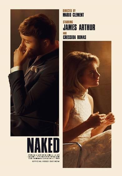 "James Arthur estrena el vídeo de ""Naked"""