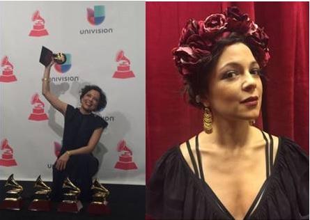 Natalia Lafourcade triunfa en la decimosexta entrega anual del Grammy Latino