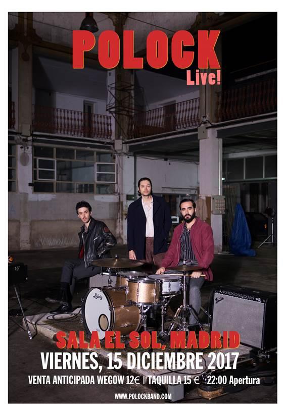 """Polock presenta en Madrid su álbum """"Magnetic Ovreload"""" el 15 de diciembre"""