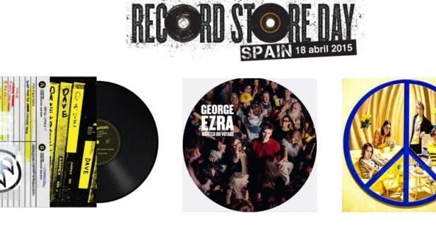Foo Fighters, George Ezra y Peace participan en el Record Store Day con ediciones exclusivas!