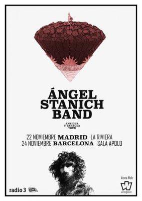 Angel Stanich gira