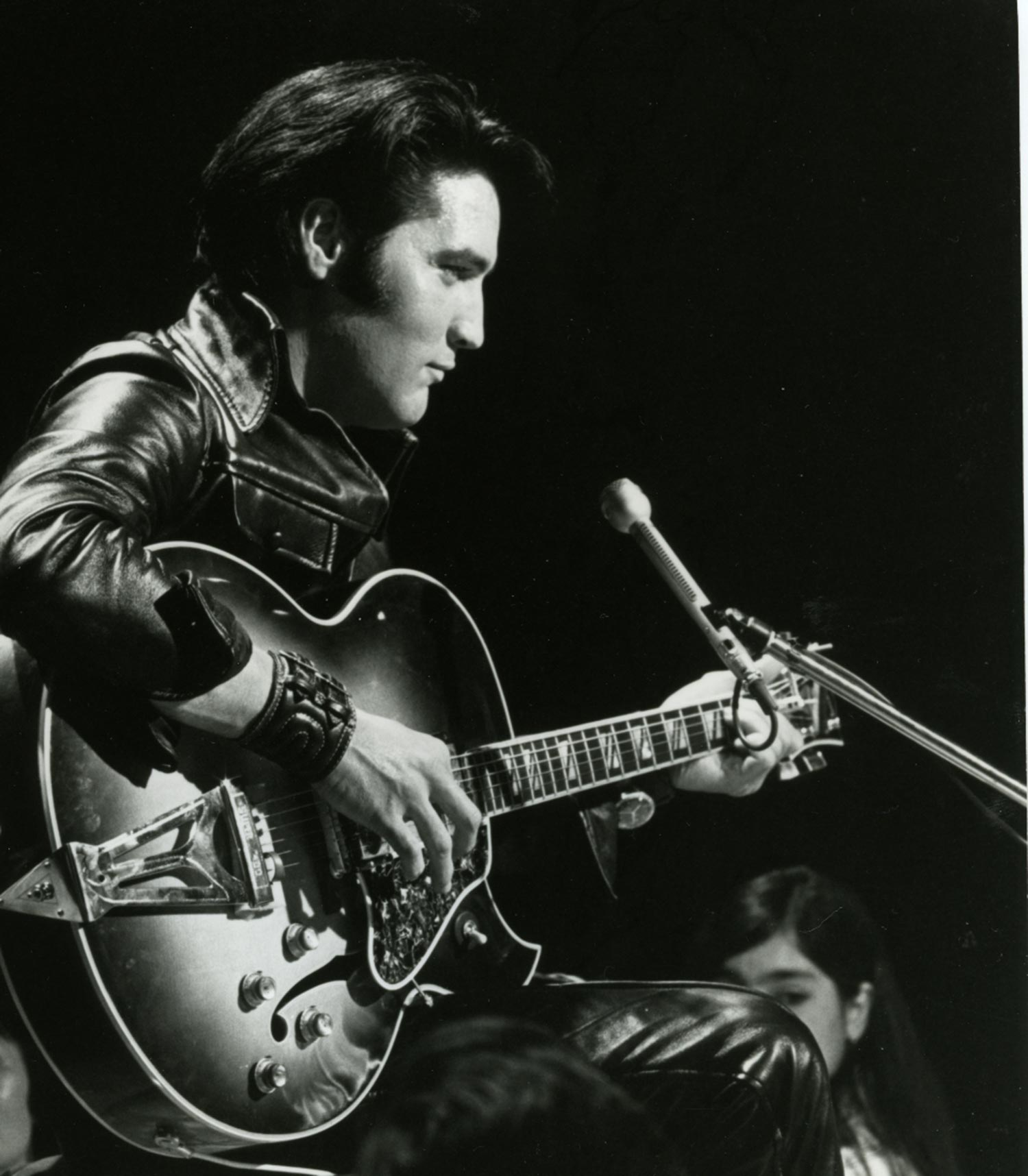 Imagen de Elvis Presley músico del género Rock activo en Los 50s