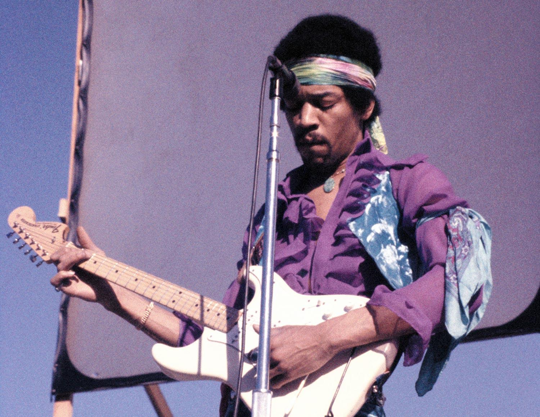 Imagen de Jimi Hendrix músico del género Rock activo en Los 60s