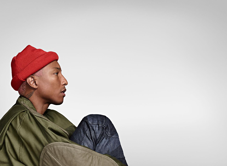Imagen de Pharrell Williams músico del género Soul / R&B activo en Los 2000s