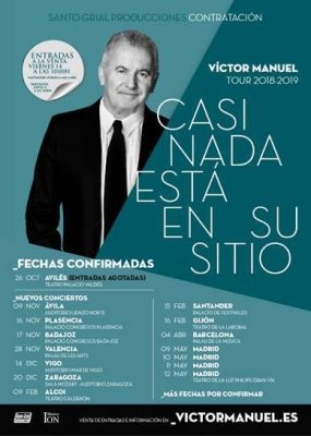 Víctor manuel gira