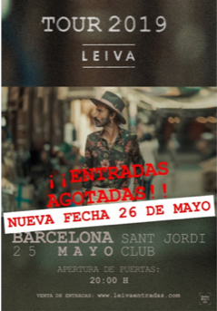 Leiva Barcelona sold-out
