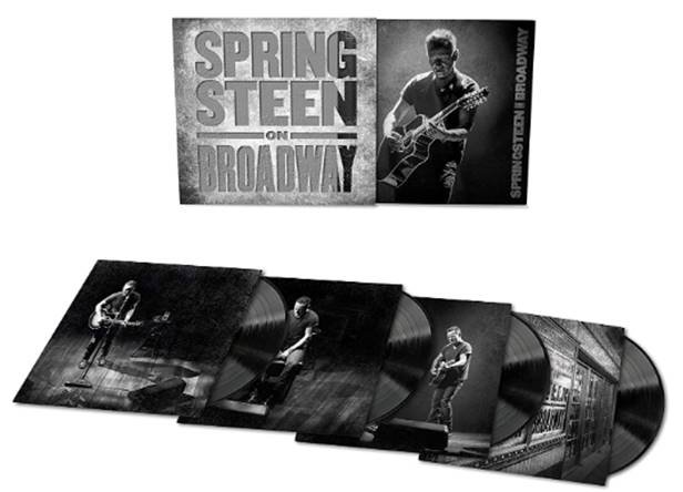 """Springsteen on Broadway"", ya disponible el formato 4 LP"