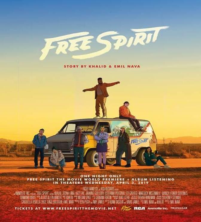 """Khalid lanza su segundo álbum """"Free Spirit"""" el 5 de abril"""