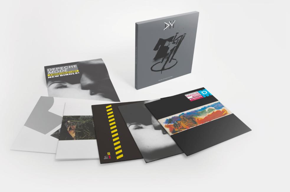 "Depeche Mode lanza dos nuevos recopilatorios de singles en vinilo: ""Black Celebration The 12″ Singles"" y ""Music For The Masses The 12″ Singles"""