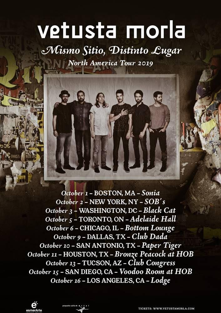 Vetusta Morla anuncia su gira por Estados Unidos y Canadá en otoño