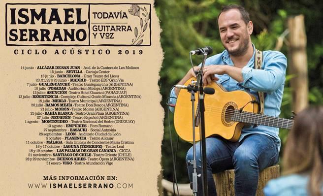 """Ismael Serrano vuelve a España en junio para continuar con la gira """"Todavía"""""""