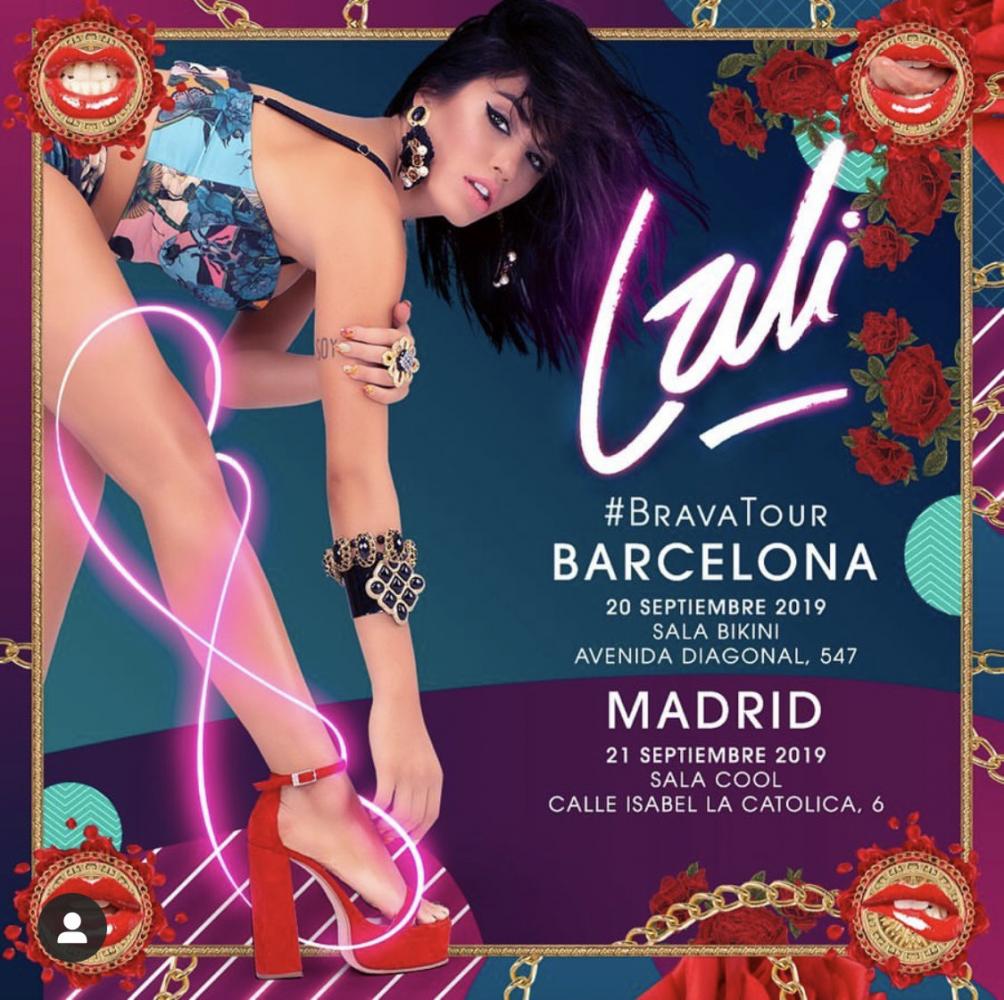 "Lali llega con su ""Brava tour"" a España"