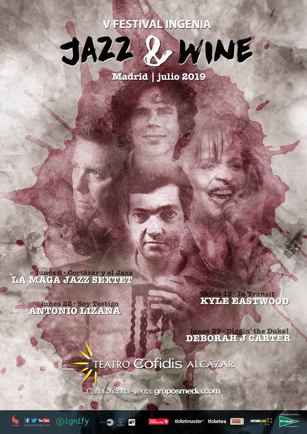 Antonio Lizana actúa el 22 de julio en el Festival Jazz & Wine en Madrid