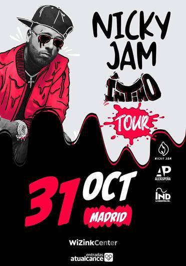 Nicky Jam comienza su gira de verano por España el 6 de julio