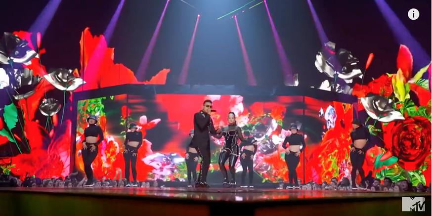 Rosalía triunfa en la ceremonia de los Premios VMA