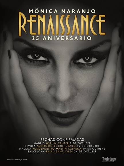 """Monica Naranjo lanzará su nuevo single """"Libre amar"""" el 27 de septiembre"""