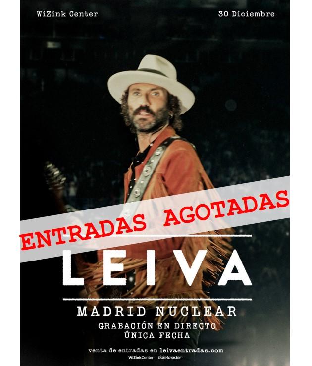 LEIVA agota en 1 día  las entradas de Madrid Nuclear