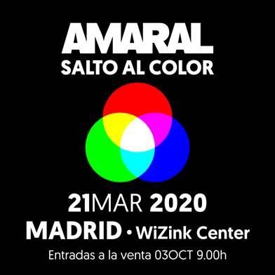 """Amaral es No.1 en ventas con su álbum """"Salto al color"""""""