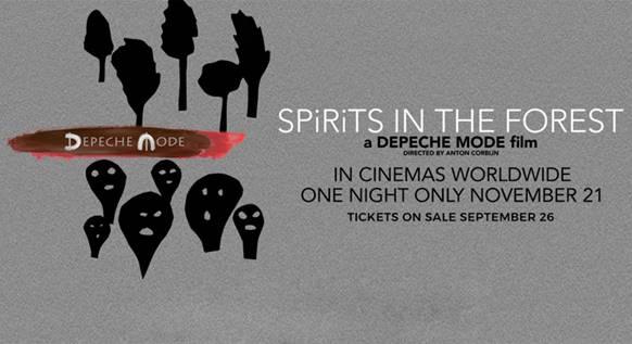 """Depeche Mode estrena el tráiler de su documental """"Depeche Mode: SPIRITS In The Forest"""" que llega a los cines el 21 de noviembre"""