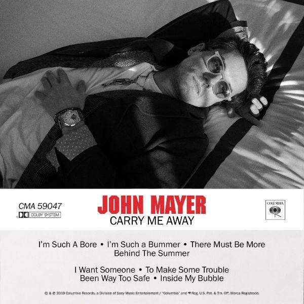 """John Mayer publica su nueva canción: """"Carry Me Away"""""""