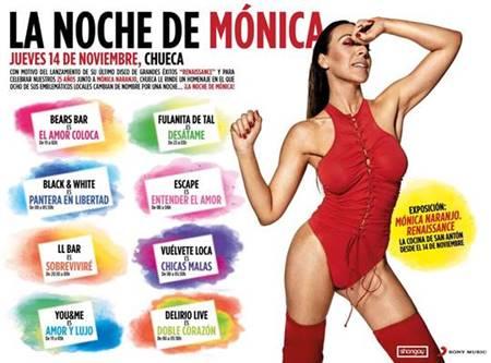 """Mónica Naranjo publica """"Ahora, Ahora (En directo Madame Noir)"""", segundo adelanto de su nuevo álbum"""
