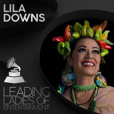 """Lila Downs recibe el galardón """"Leading Ladies of Entertainment"""" en los Latin Grammys"""