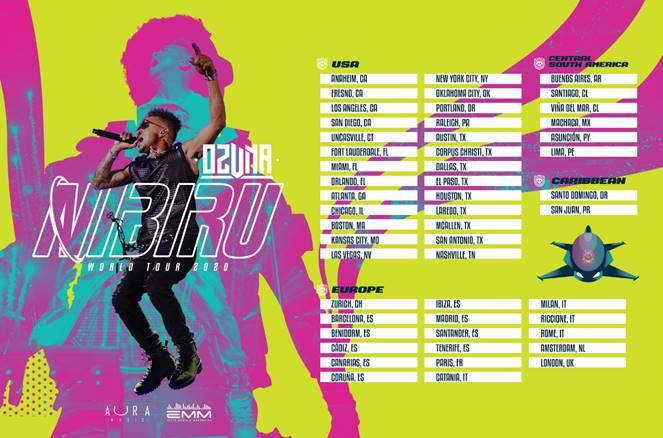 """Ozuna lanza su nuevo álbum """"Nibiru"""""""