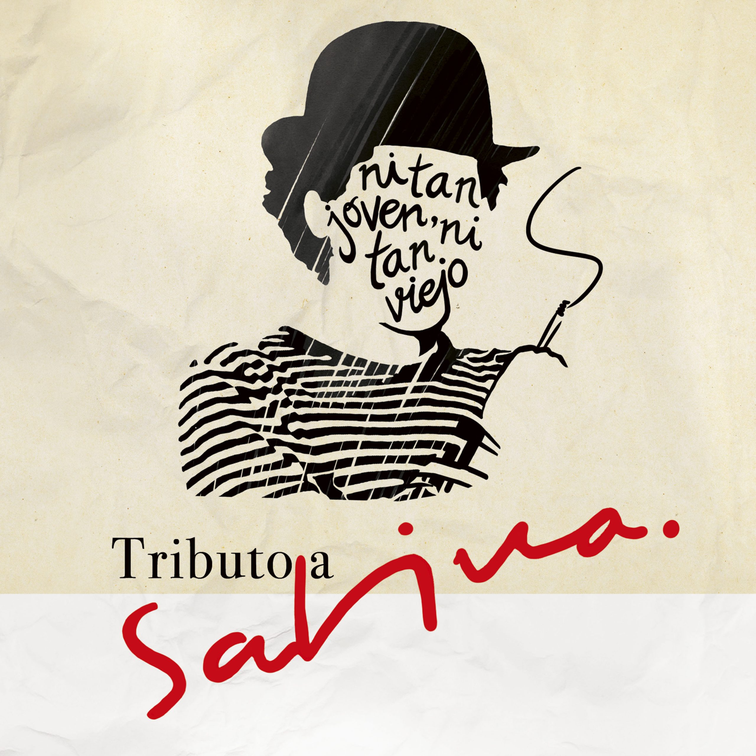 """""""Ni tan joven ni tan viejo"""", el tributo de varias generaciones a Joaquín Sabina, sale a la venta el viernes 13 de diciembre"""