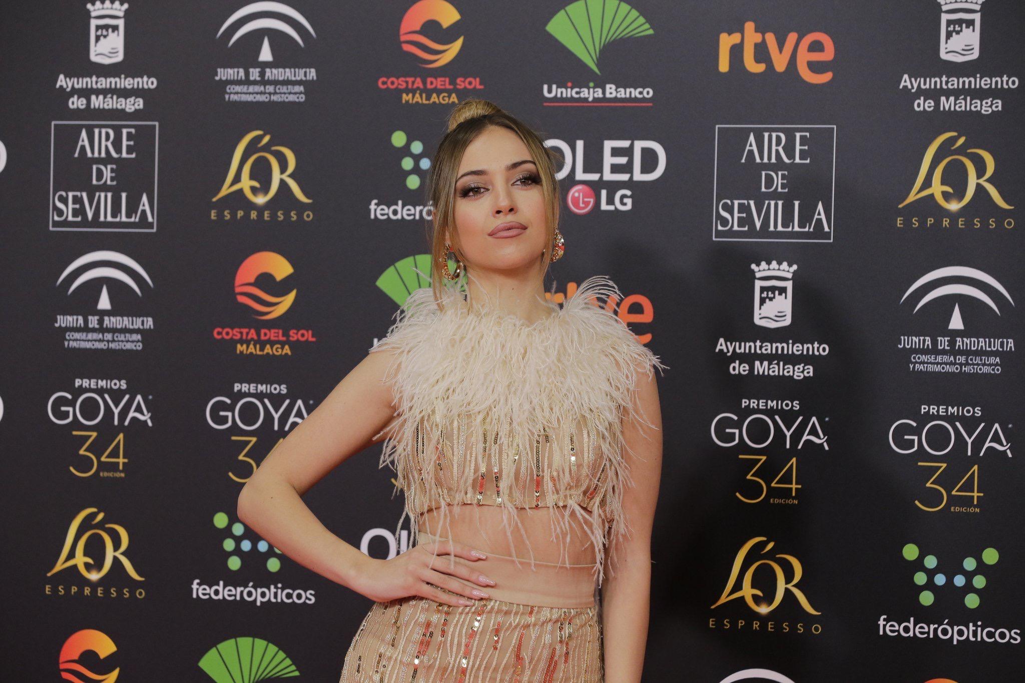 Ana Mena brilla en lo Premios Goya 2020