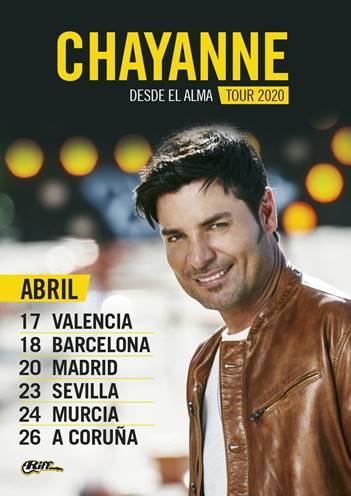 Chayanne vuelve a España de gira tras diez años de ausencia