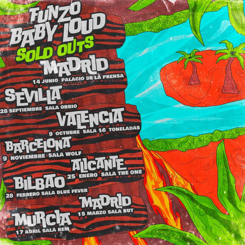 "Funzo & Baby Loud presentan ""Malibú con piña"""