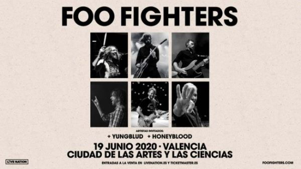 Foo Fighters anuncia un concierto en Valencia