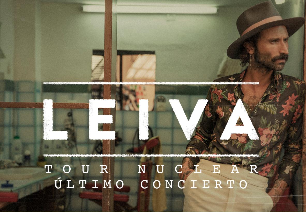 Leiva anuncia el fin de gira de su Nuclear Tour el 24 de octubre en Barcelona