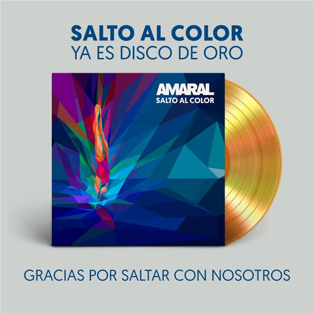 AMARAL Disco de Oro