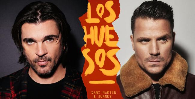 """Dani Martín y Juanes estrenan """"Los huesos"""""""