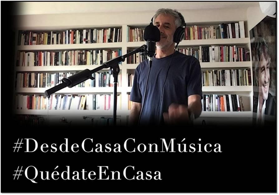 """Sergio Dalma canta """"Solo para ti"""""""