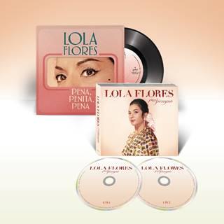 """""""Por siempre"""", el doble CD homenaje a Lola Flores, mañana 5 de junio a la venta"""