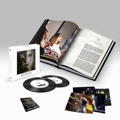 Mónica Naranjo: Preventa exclusiva en su tienda oficial online del Tour Book y el Doble CD de la gira Renaissance