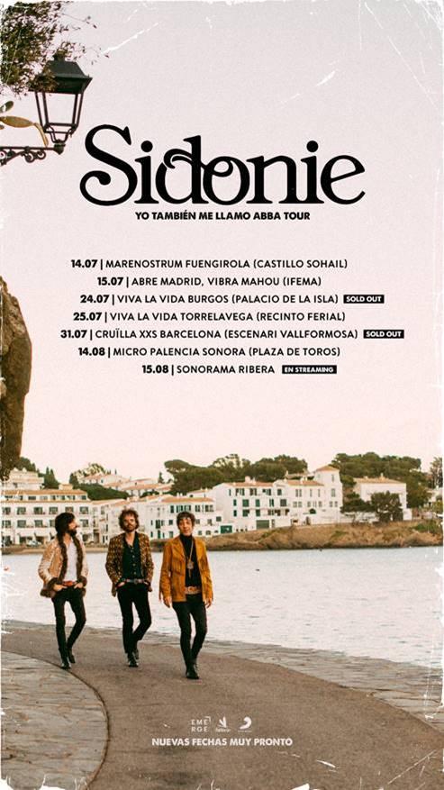 """Sidonie publica """"Portlligat"""", nuevo adelanto de su álbum """"El regreso de Abba"""""""