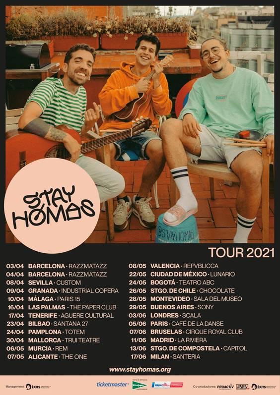 """Stay Homas lanzan su mixtape """"Desconfination"""" y anuncian gira internacional"""