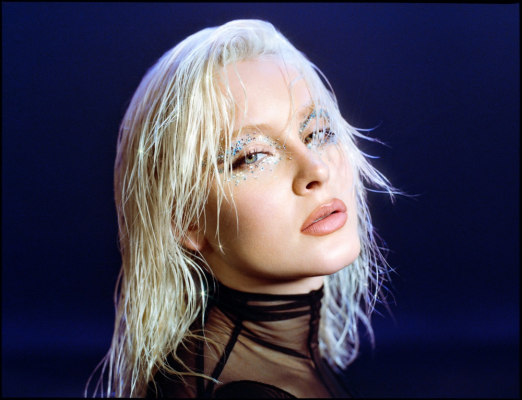 Imagen de la artista sueca de estilo R&B y Dance Zara Larsson